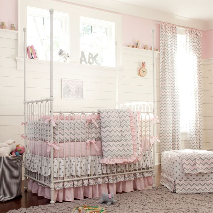 @Carousel Designs creates beautiful, high-quality baby and toddler bedding. We love that parents can design their own virtual nursery to get a feel for their style! #PNapprovedCrib Bedding, Carousels Design, Cribs Beds, Baby Girls, Kids, Gray Chevron, Beds Sets, Girls Nurseries, Nurseries Ideas