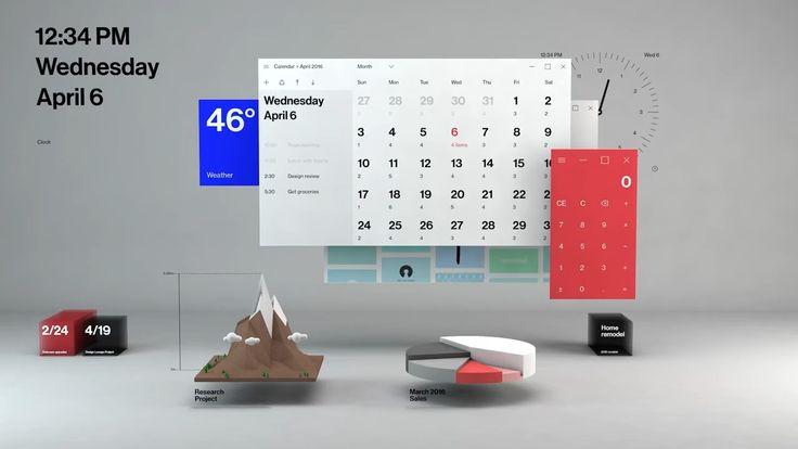 Fluent Design System, виртуальна реальность