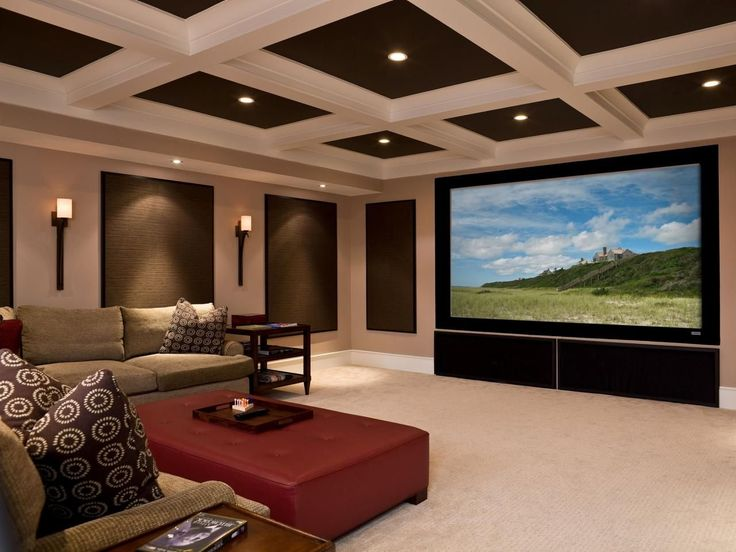 310 Best Basement Home Theater Images On Pinterest  Apartment Best Living Room Home Theater Ideas Decorating Inspiration