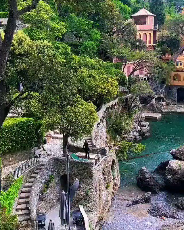 الحياة Life On Twitter بورتوفينو الساحرة في شمال إيطاليا Beautiful Places To Travel International Travel Tips Adventure Travel