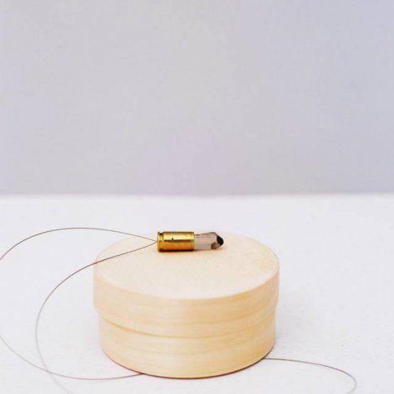 Artbe - náhrdelník Kouřový kámen