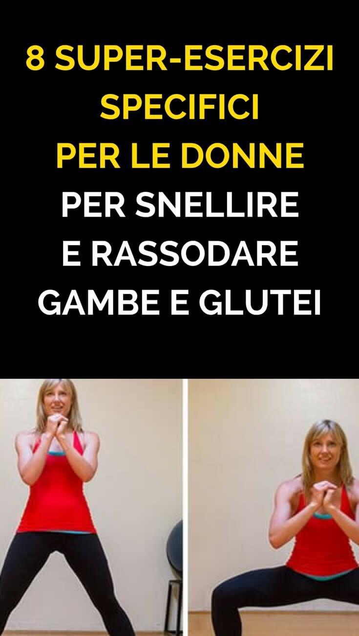 esercizio e dieta per tonificare