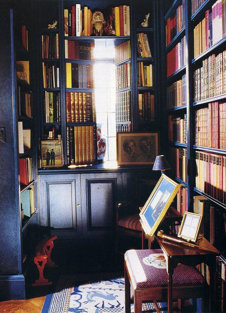 Private Library Study Rooms: Home Libraries, Home Library, Private
