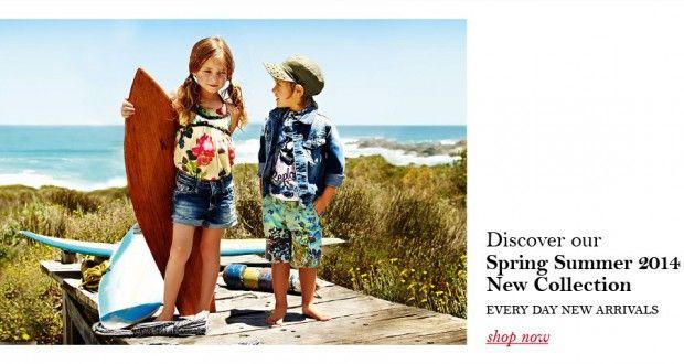 Replay & Sons per vestire i bambini per l'estate 2014