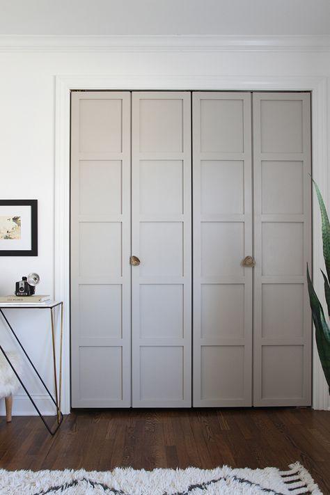 paneel vouwdeuren inloopkast