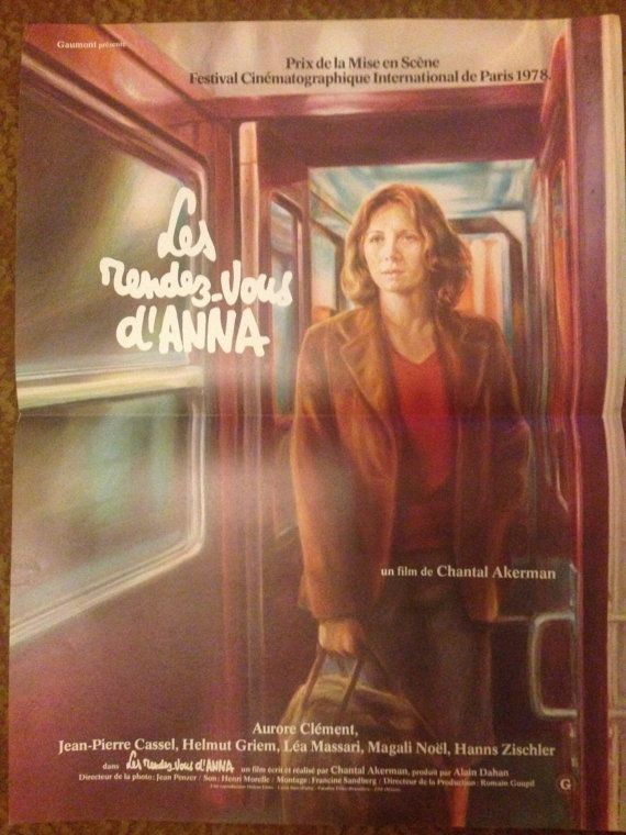 Les Rendez-vous d'Anna movie poster by Postura on Etsy