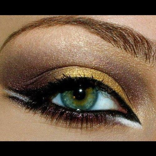 golden shadow - maybe for my party tomorrow...