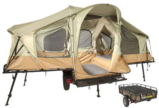 how to fix up a pop up tent trailer