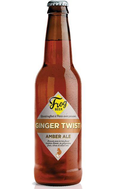 Frog Beer Ginger Twist