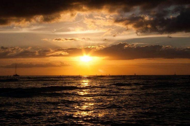 #Waikiki #Sunset, #Hawaii | Picfari.com