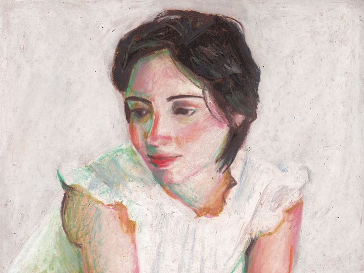 "Woman by Tali Yalonetzki on Artfully Walls $39.50 for 8""x6"" stretched canvas print"