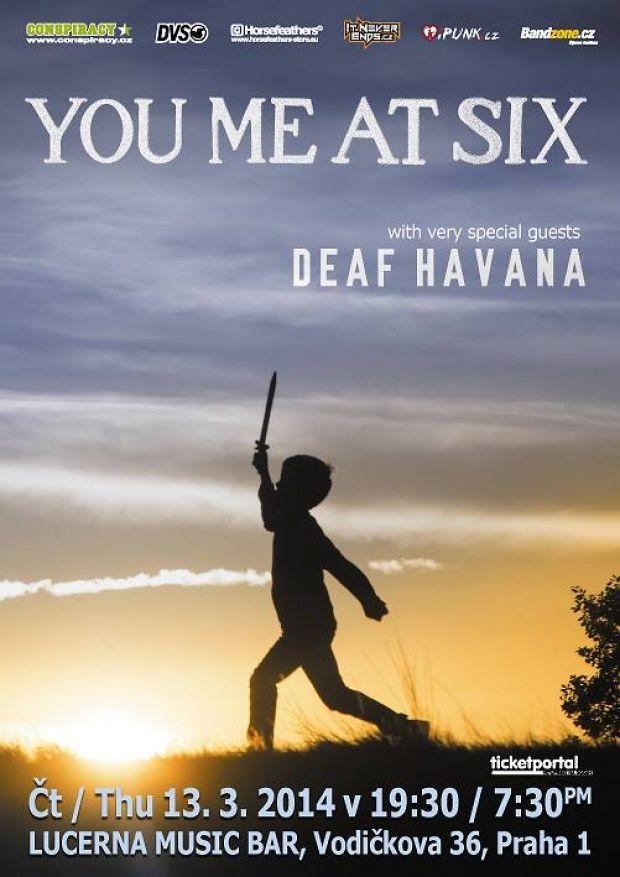 You Me At Six a Deaf Havana