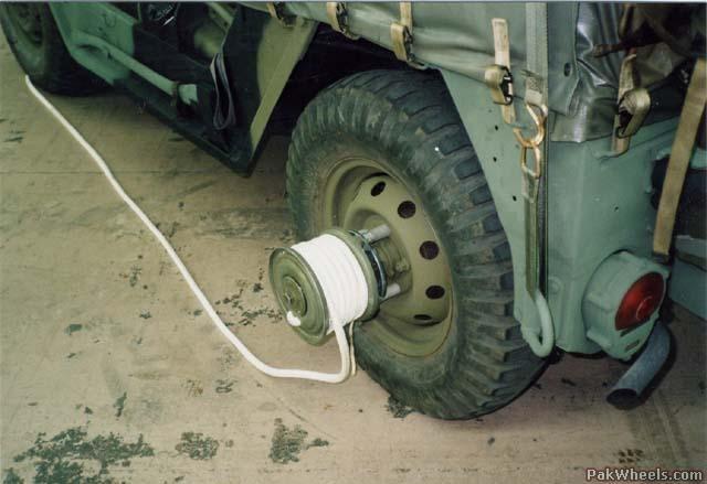 Wheel Hub Winch Monster Trucks Jeep Offroad