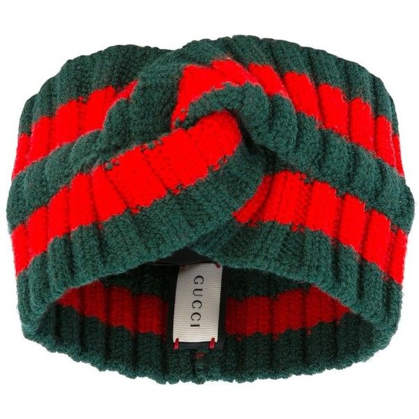 Gucci Web stripe head band ($200) ❤ liked on Polyvore featuring accessories, red, red headband, hair band headband, head wrap headband, knotted headwrap and headband hair accessories