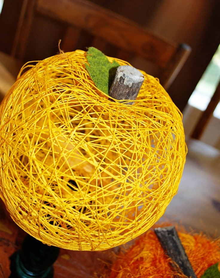 String Pumpkin Tutorial