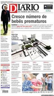 O Diario do Norte do Parana 27-11-2012 Brazil