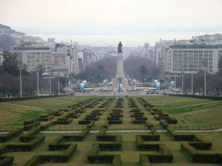 Lisszabon, Pombal tér