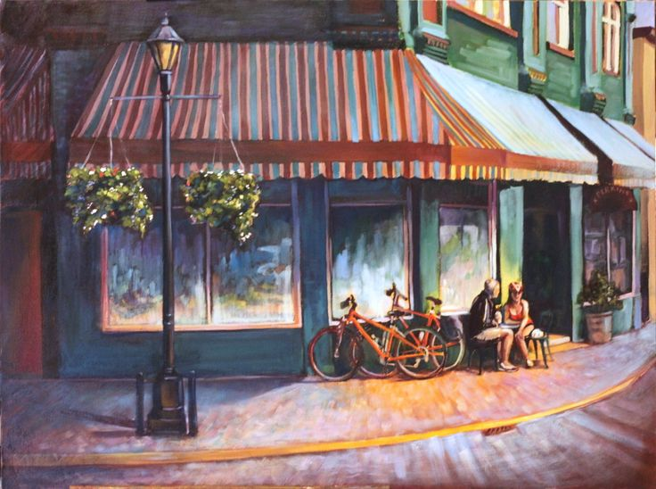 Coffee Shop Painting | Leave a Reply Cancel reply | THE ...