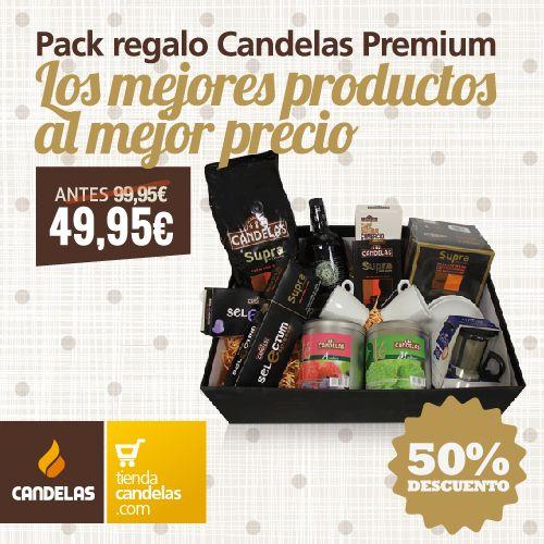 Una oferta especial limitada: pack regalo Candelas Premium a mitad de precio. Unidades limitadas.