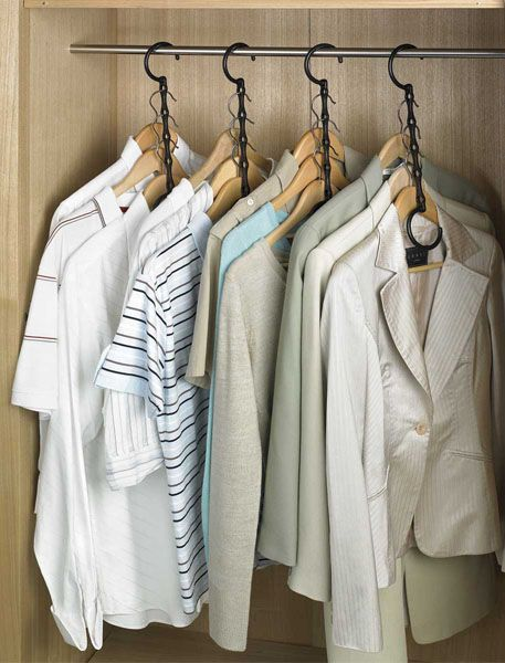 Space-Saving Clothes Hangers