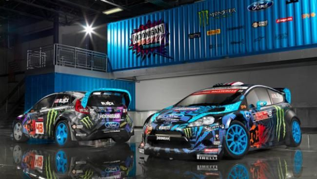 Ken Block Perkenalkan Mobil Baru Ford Fiesta Untuk Rallycross 2014 - Vivaoto.com - Majalah Otomotif Online