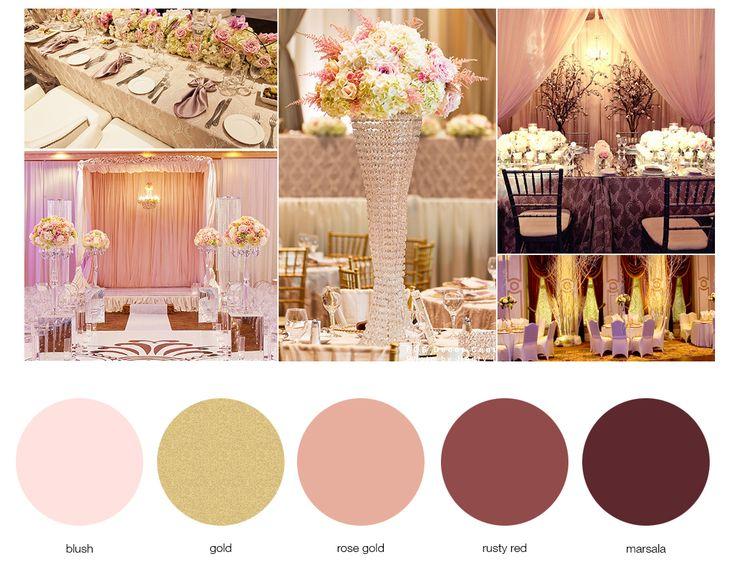 marsala and blush color - Google Search