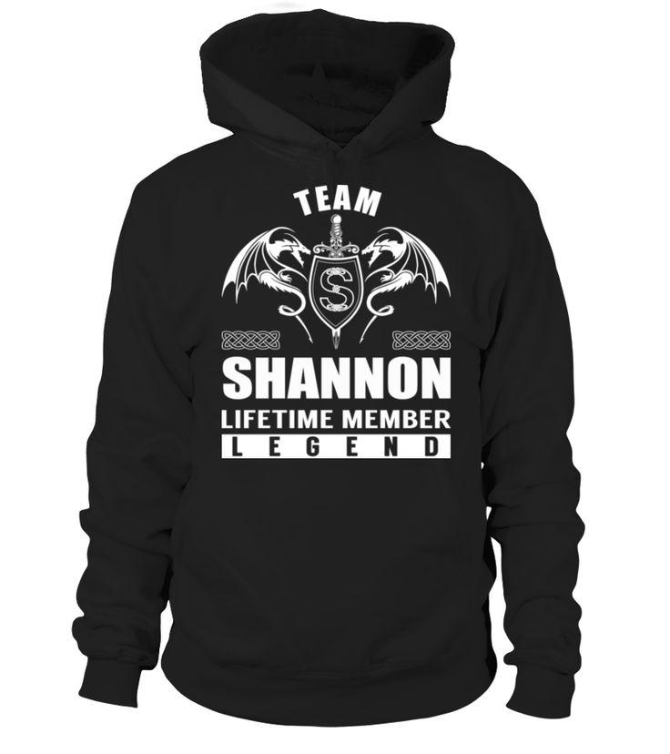 Team SHANNON - Lifetime Member #Shannon
