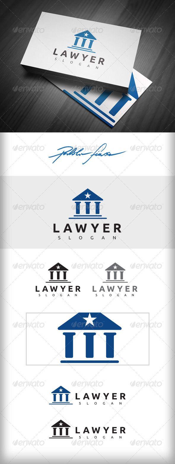 Lawyer Logo - Attorney Logo - Solicitor Logo