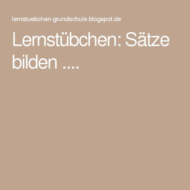Arbeitsblatt Vorschule deutsche sätze bilden : u00dcber 1.000 Ideen zu u201eSu00e4tze Bilden auf Pinterest : Sprache kunst poster, Vorschule und ...