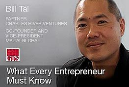 """Micro-course """"What Every Entrepreneur Must Know"""" by Bill Tai https://coursmos.com/course/what-every-entrepreneur-must-know #Business @Coursmos Courses"""