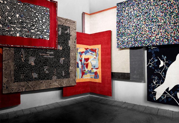 DRIADE La Bruyere carpet | Mildred carpet | La Fontaine carpet | Birds carpet