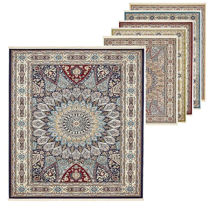 Country Medallion Style Rug Traditional Floral Carpets Botanical Border Rugs | eBay