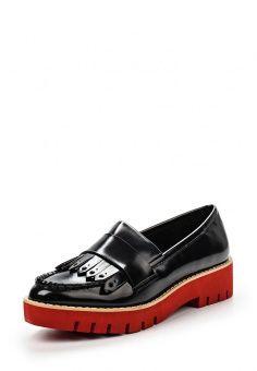 Лоферы Mango, цвет: черный. Артикул: MA002AWHKG30. Женская обувь / Туфли / Лоферы