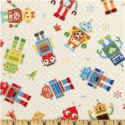46 best images about robots on pinterest for Robot quilt fabric