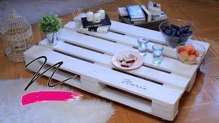Így lesz raklapból asztal! VIDEÓ -Takács Nóra- NORIE