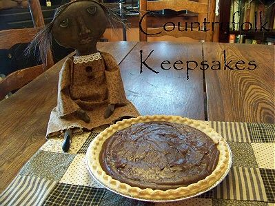 Old Fashioned Chocolate Pie  (Love this recipe!)
