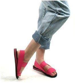 stretch sandals! Had them!