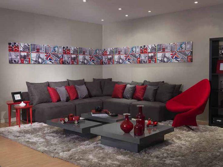 Projeto de sala de estar por ana luiza florez arquitetura for Sala de estar sims 4
