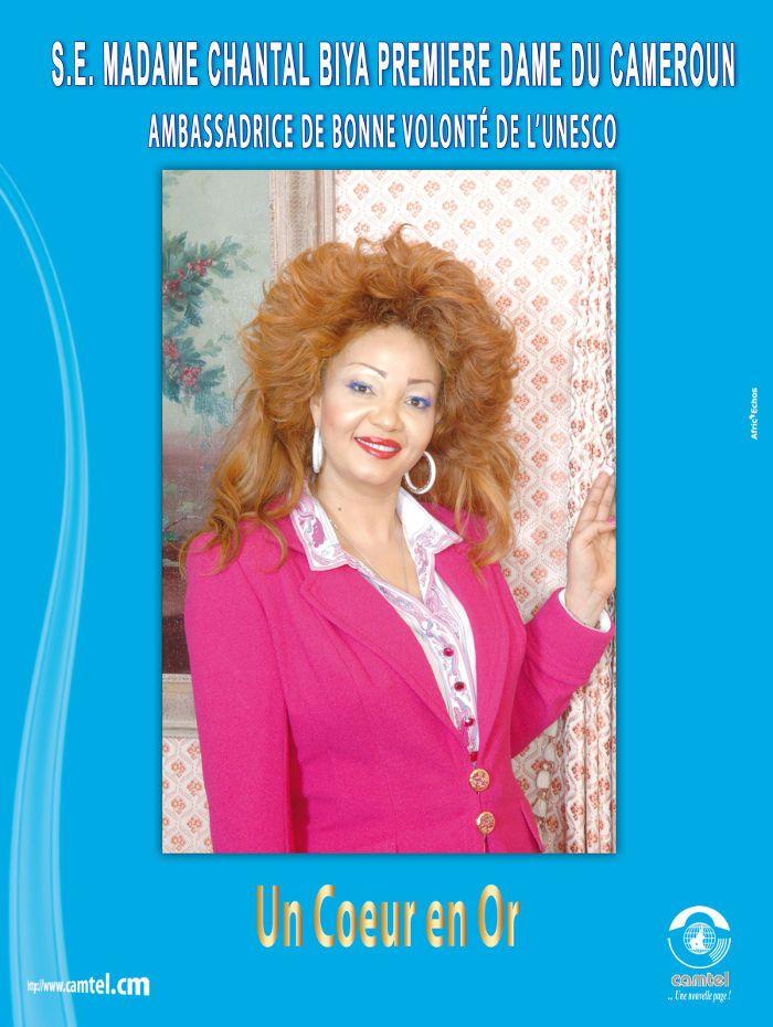 18 best Chantal Biya images on Pinterest   First ladies, Celebrities ...
