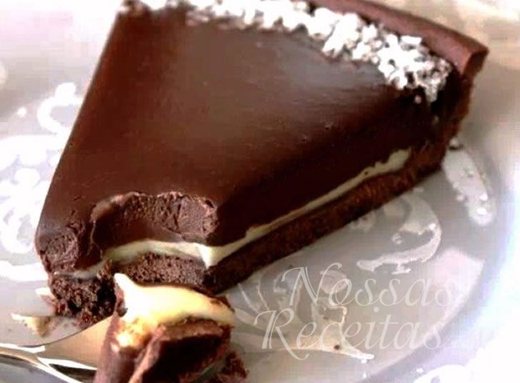 Torta de Chocolate Absurda! Rsrsrs