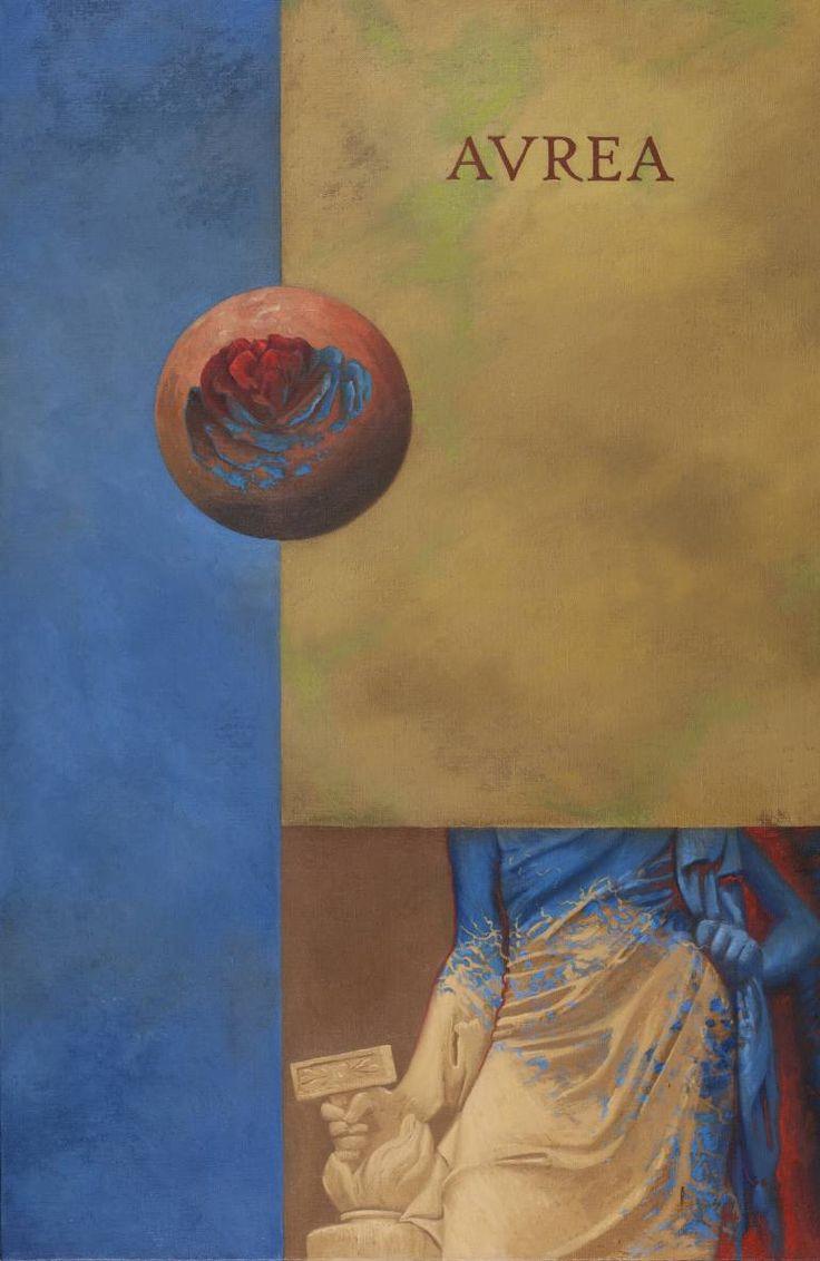 "Saatchi Art Artist Juan Manuel Álvarez Cebrián; Painting, ""Aurea"" #art"