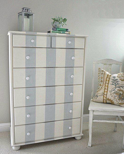 15 best comodini images on Pinterest Painted furniture - comment repeindre un meuble vernis