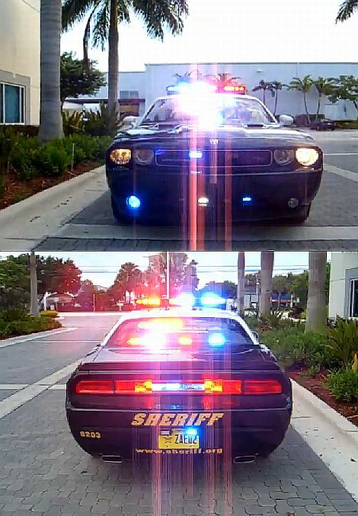 ~~ 2012 Challenger Police Car With Federal Signal Lighting  Video ~~  Via EmrgncyVehicleSupply on YouTube.