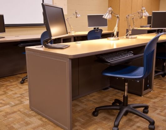 Computer Lab Furniture Customized For Any Space By Interior Concepts