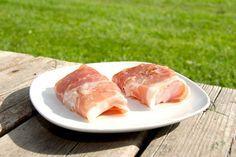Grillet torsk med parmaskinke (god fisk på gasgrill og kuglegrill)