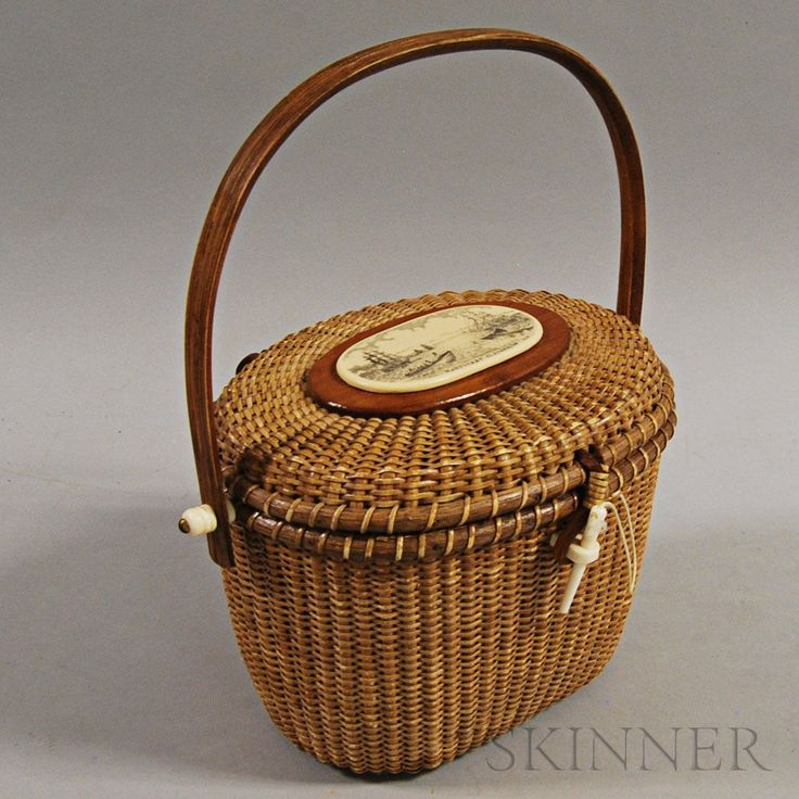 821 Best Images About Antique Baskets American Made On