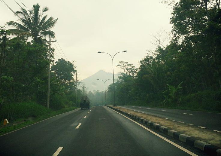 Silent morning. Salatiga Central Java Indonesia