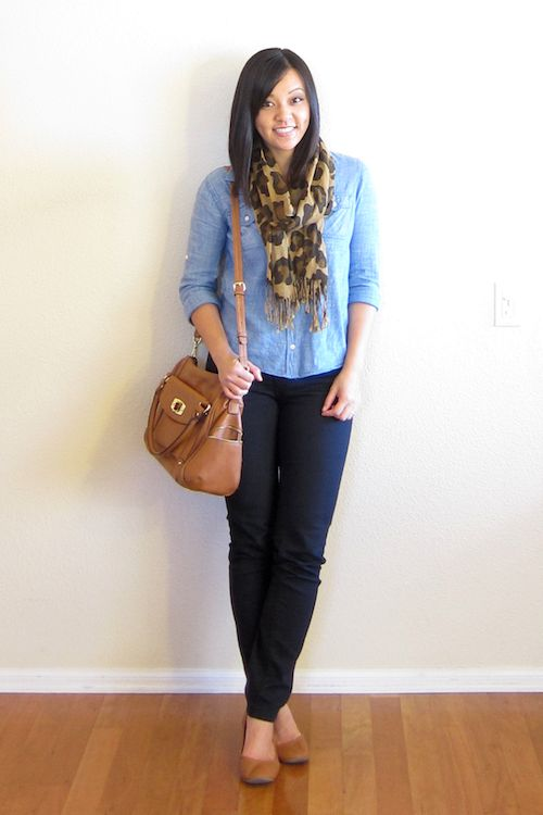 Scarves and Simplicity - Putting Me Together