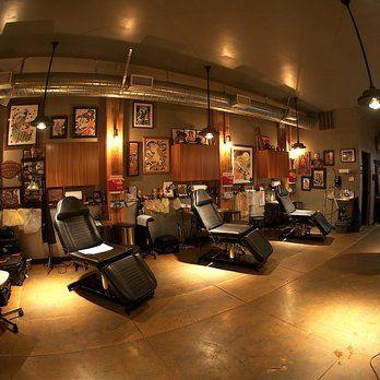 Shop area at Full Circle Tattoo | Yelp