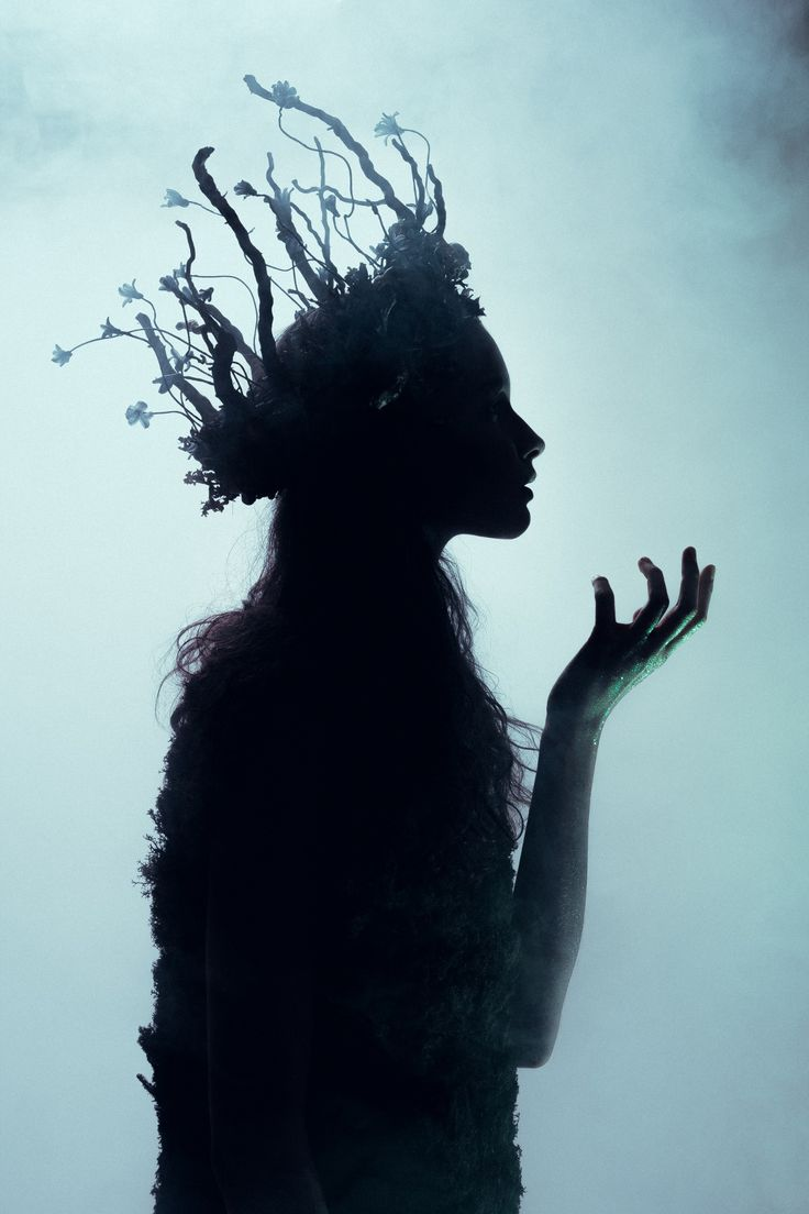 Fantasy | Magical | Fairytale | Surreal | Enchanting | Mystical | Myths | Legends | Stories | Dreams | Adventures | Dryad of Night by Leo Ch. on 500px